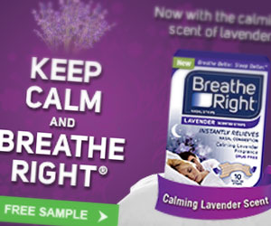 Breathe Right Banners